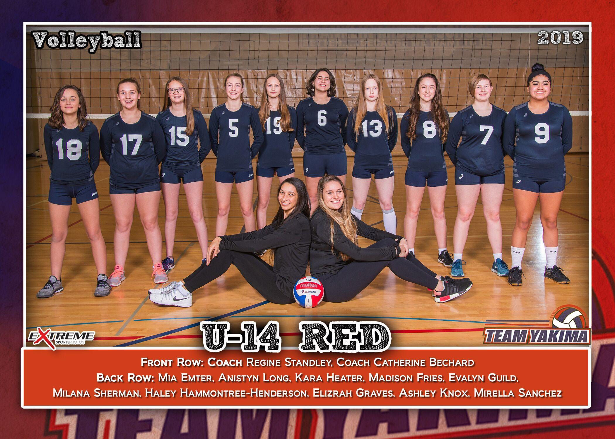 Team Yakima 14 Red