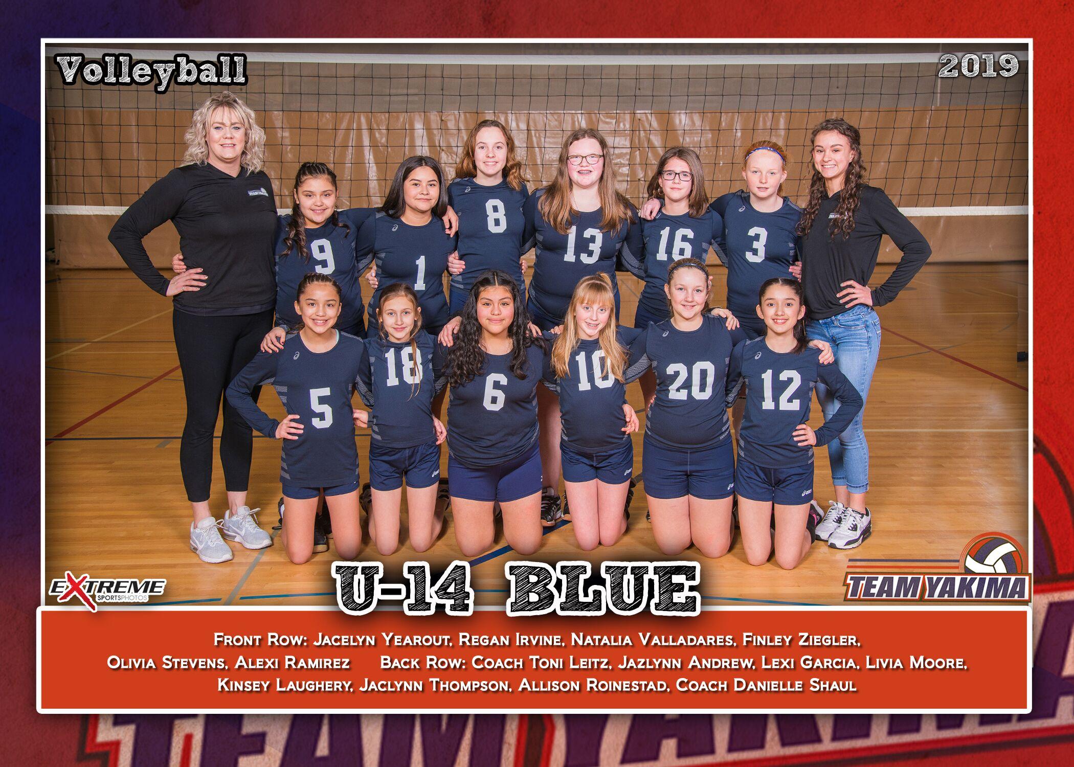 Team Yakima 14 Blue