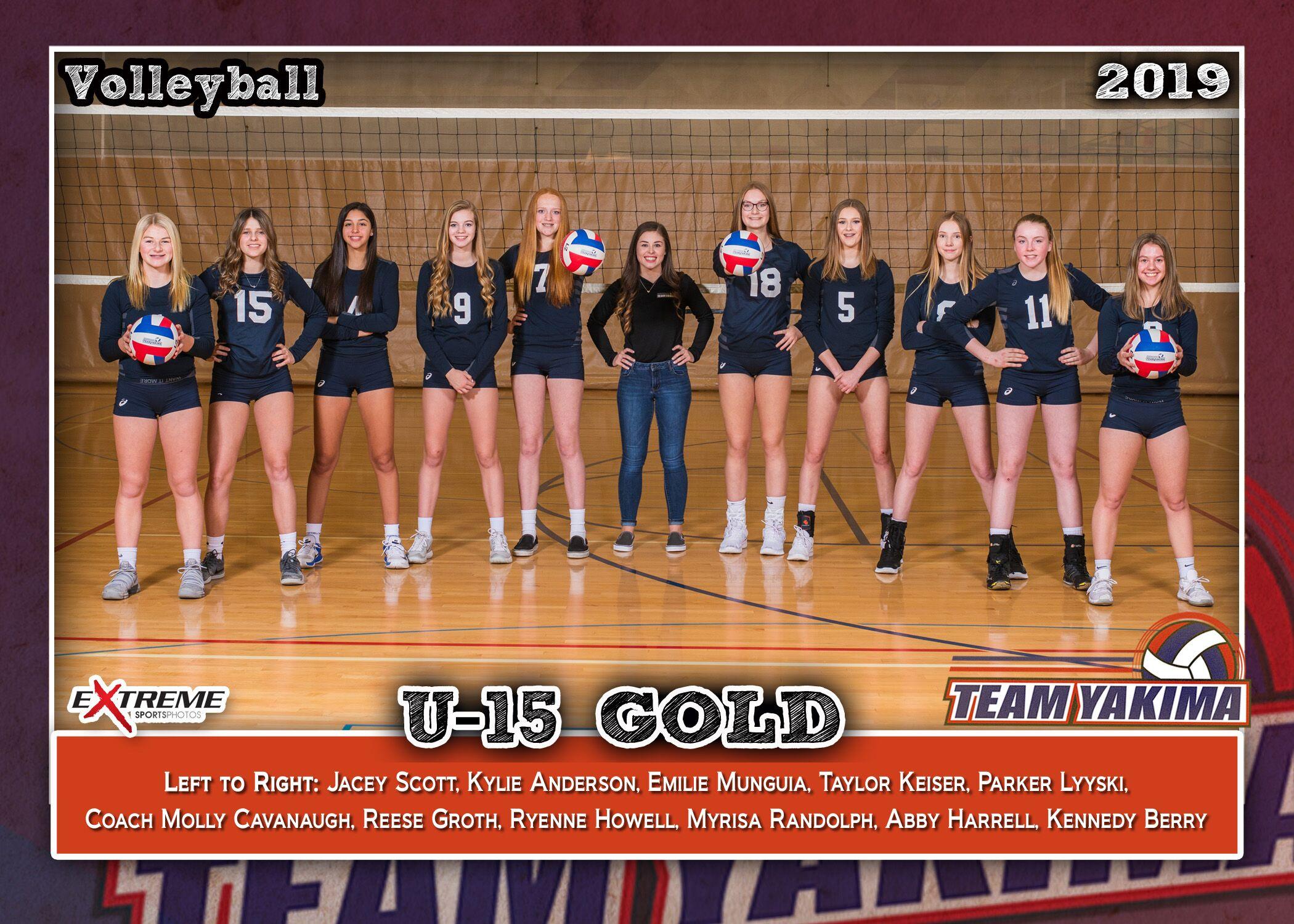 Team Yakima 15 Gold