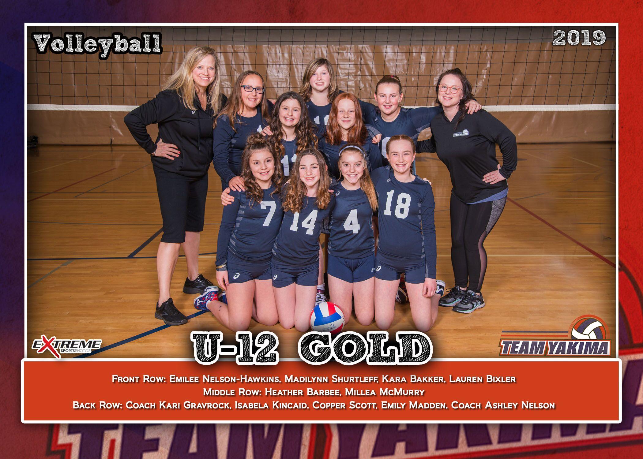Team Yakima 12-1 Gold Elite