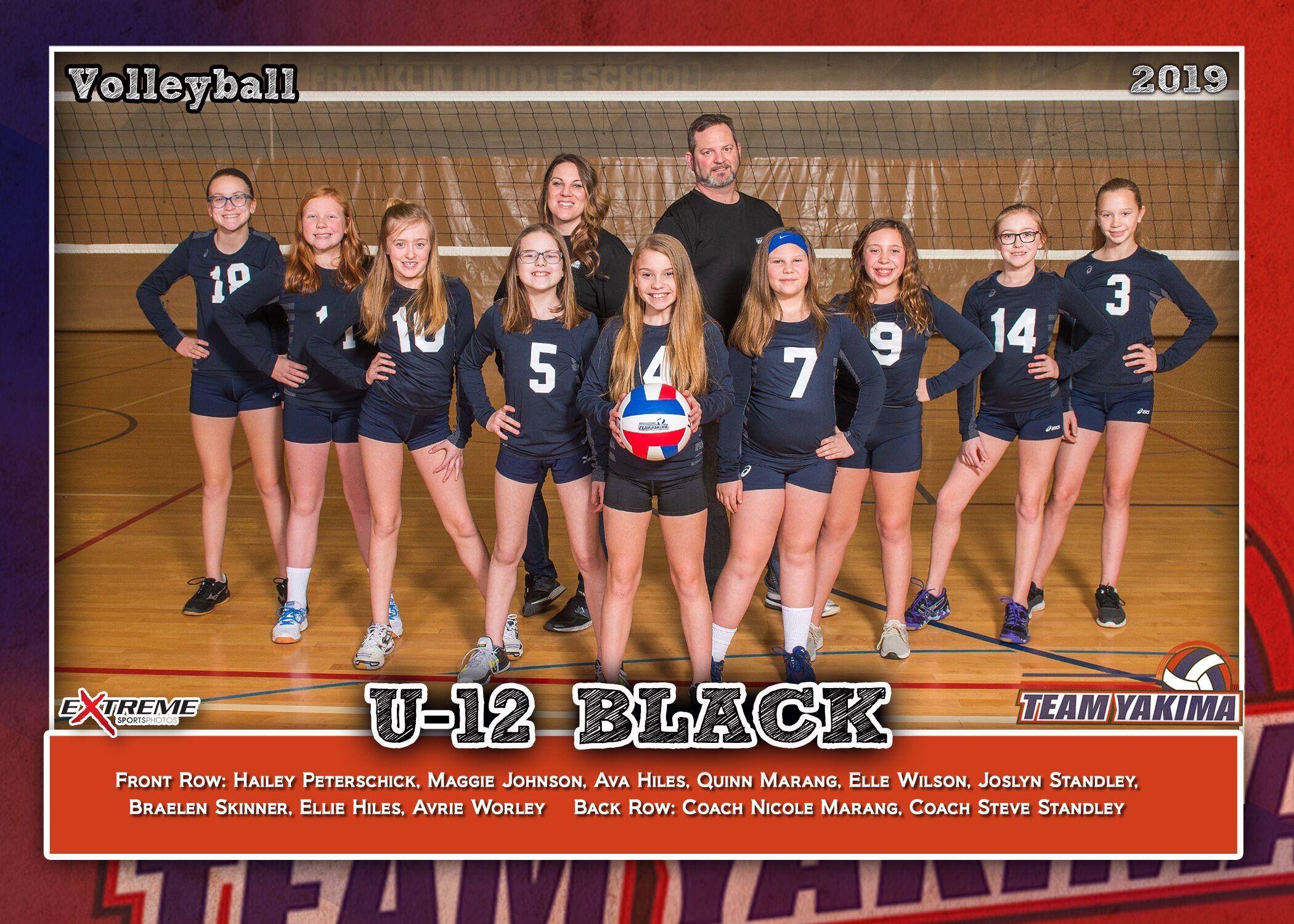 Team Yakima 12-2 Black
