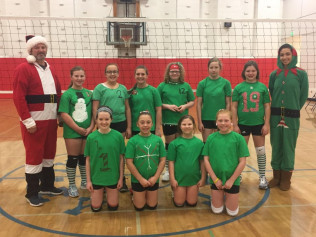 Santa and his U12 elves